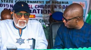 You're frustrated, I'm not responsible for your failure, Ondo Dep Gov replies Akeredolu