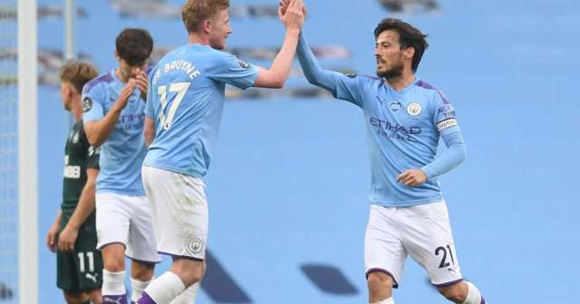 Man City 5-0 Newcastle United: Silva sparkles against abject Magpies