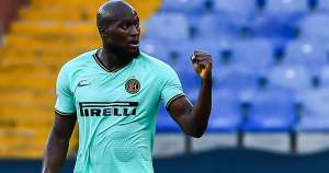 Inter striker Lukaku equals Shearer's Europa League record