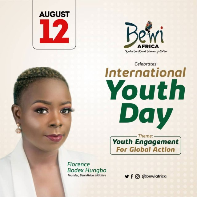 International Youth Day, BEWIAfrica