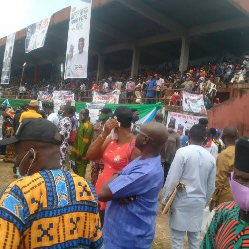 Edo 2020: Benin City locked down as APC launches campaign