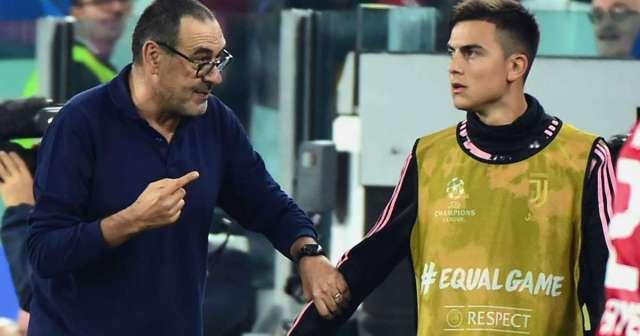 Dybala thanks former Juventus boss Sarri after sacking