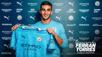 TRANSFER NEWS: Manchester City sign winger Ferran Torres from Valencia