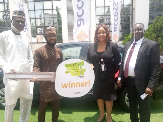 PHOTOS: Onion seller wins Access Bank car promo