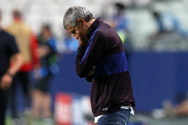 Setien announces legal action over sacking from Barcelona