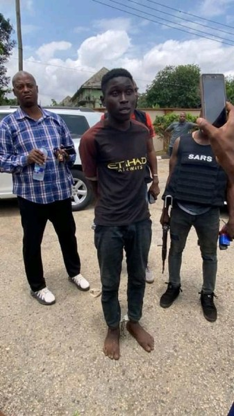 How group rearrested suspected Akinyele serial killer Sunday Shodipe on Sunday