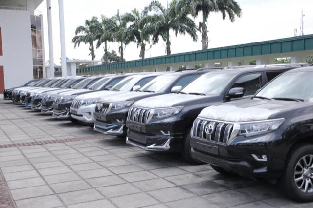 Wike buys 15 Land Cruiser Prado VX, TXL for Rivers federal lawmakers