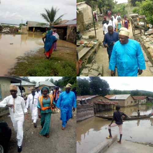 Flood displaces over 2500 Kwara residents in Jebba