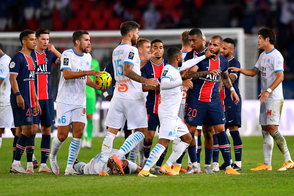 Neymar four others sent off in stormy Le Classique as Marseille trump PSG 1-0