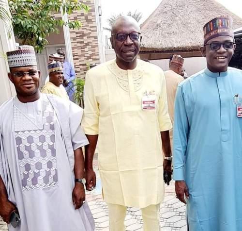 Edo: Buni, Bello meet Ize-Iyamu in Abuja
