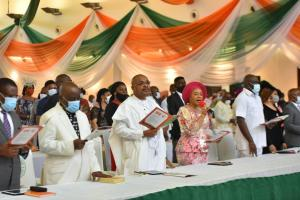 Gov Emmanuel leads citizens in thanksgiving as Akwa Ibom turns 33