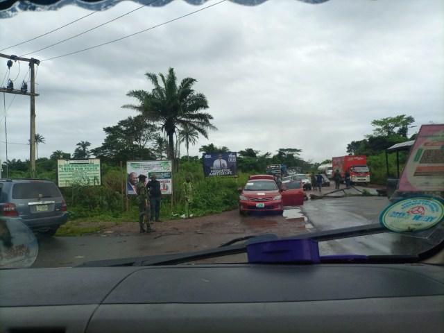 Restriction order in Edo: Motorists, travellers stranded in Okpella