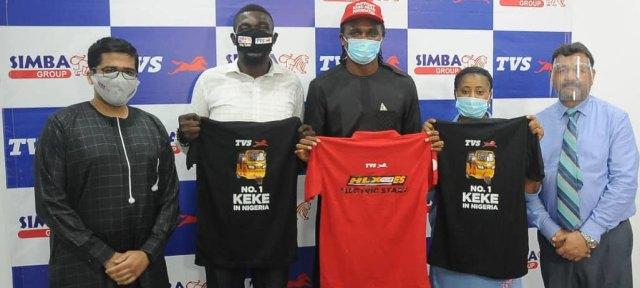 Kanu endorses Simba TVS