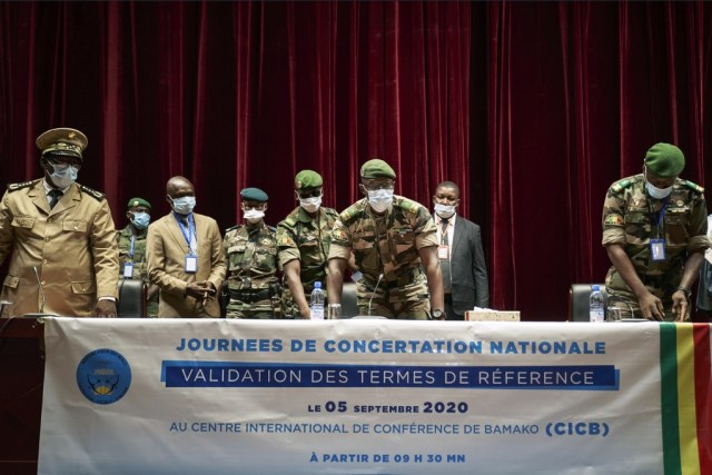 Mali junta chief demands end to economic sanctions
