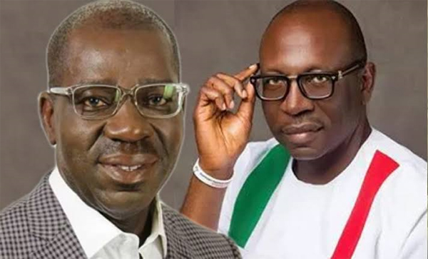 Breaking: Obaseki defeats Izy-Iyamu with 84,336 votes in Edo governorship election