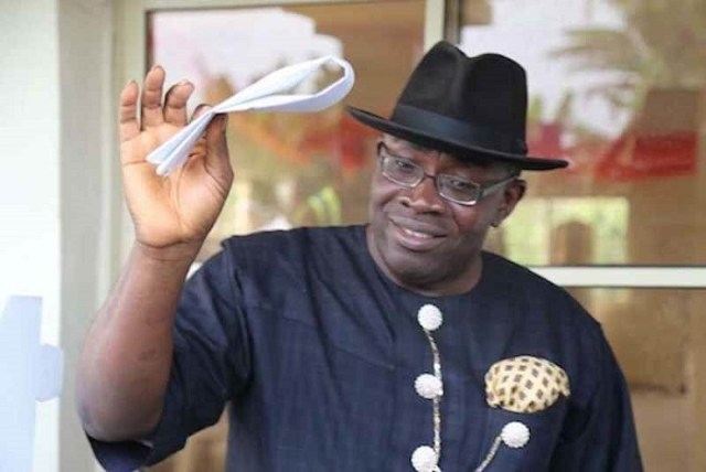 Ex-Gov Dickson clinches Bayelsa West Senatorial Seat