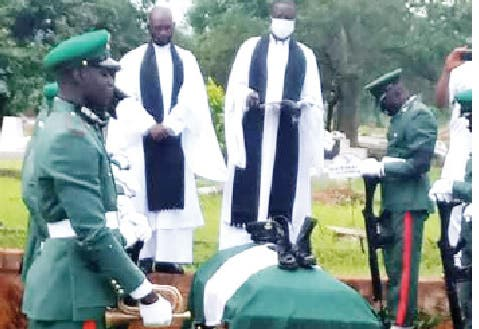 Soldier who died as result of alleged torture buried by Army in Abuja