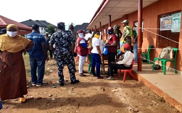 edo2 Vote-buying in Edo as aggrieved voters protest
