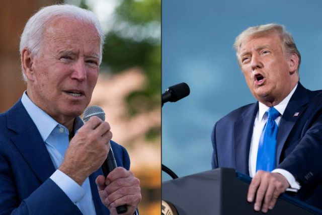 Trump and Biden land in Ohio for first presidential debate