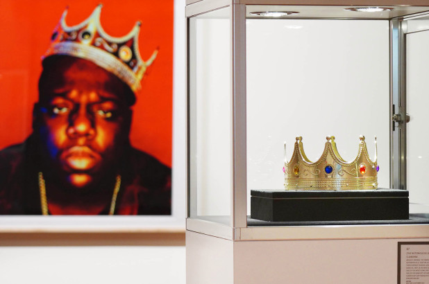 Notorious B.I.G. crown and Tupac love letters sold at auction
