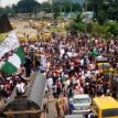 [Photos/Video] #EndSARS: Lawyers protest at Lagos House of Assembly