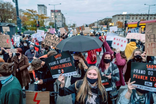 Massive protest against abortion ruling planned in Poland
