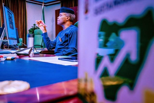 Osinbajo discusses Nigeria, UK post-Brexit relations with Johnson's trade envoy
