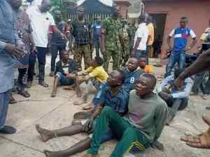 Hoodlums invade Sen Folarin's house, police arrest 7 suspects