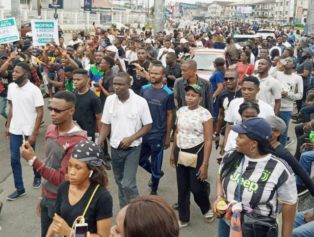 Prayer walk to support EndSars Protest in PH 3