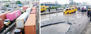 Traffic anarchy in Apapa