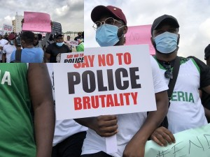 Runtown, Falz take #EndSARS protest to streets of Lagos