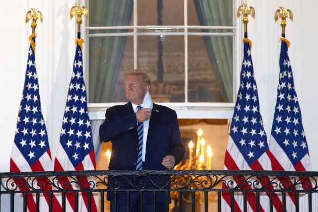 Trump holds first in-person gathering amid virus spread concerns