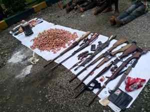 Police burst gun running syndicate, parade 14 others in Calabar