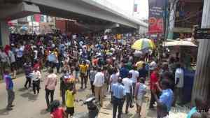 #EndSARS protesters shut Alausa Secretariat