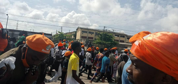 Independence Day: Police arrest 30 protesters, detain Inspector for assaulting journalist