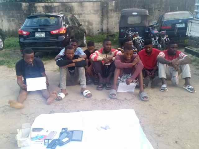 Police parade suspected Kidnapper,14 others for cultism, vandalism in Calabar
