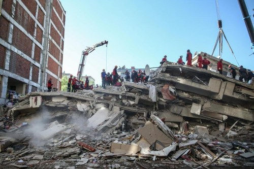 Death toll in western Turkey earthquake rises to 49