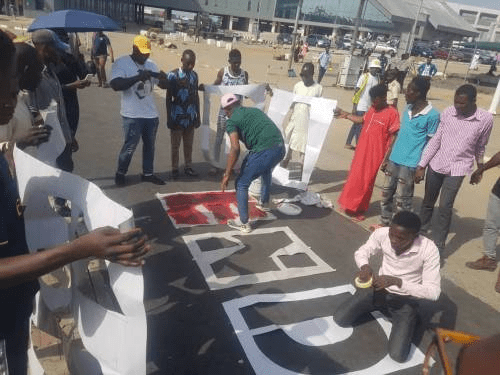 Mixed reactions as #EndSARS protest resumes in Abuja