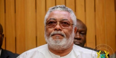 Ghana President Akufo-Addo declares seven days of national mourning for Rawlings