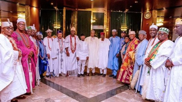 Politicians playing money-induced games at expense of youths' interests — Southwest monarchs