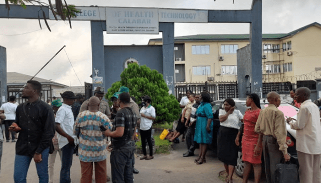 C/River College of Health Technology unions begin warning strike