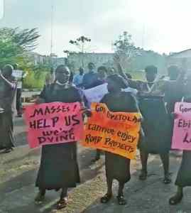 Osun pensioners protest non-payment of benefit