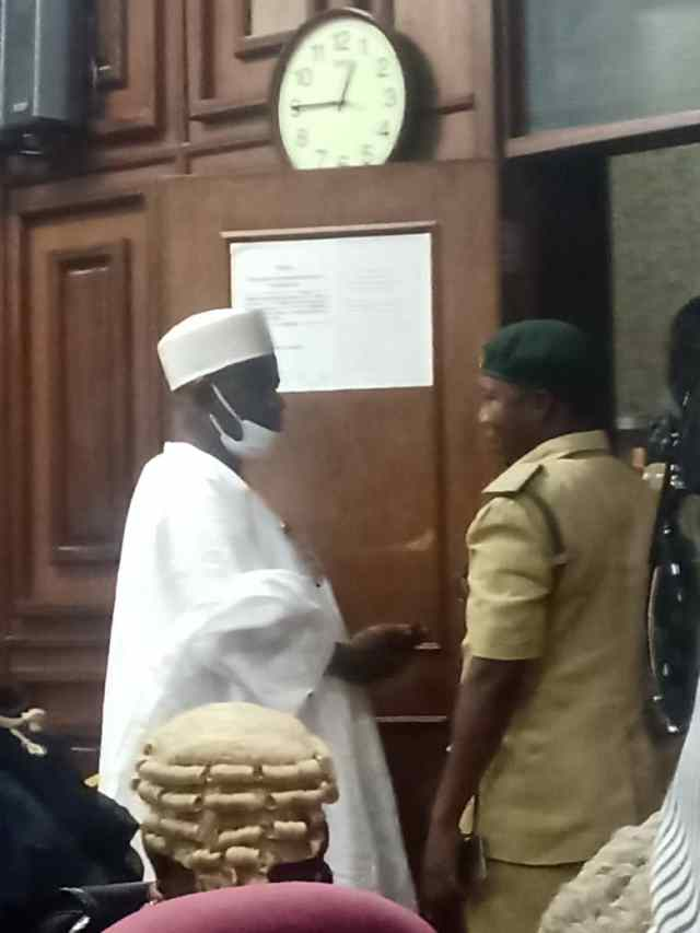 Breaking: Court remands Ndume in prison custody over Maina's escape