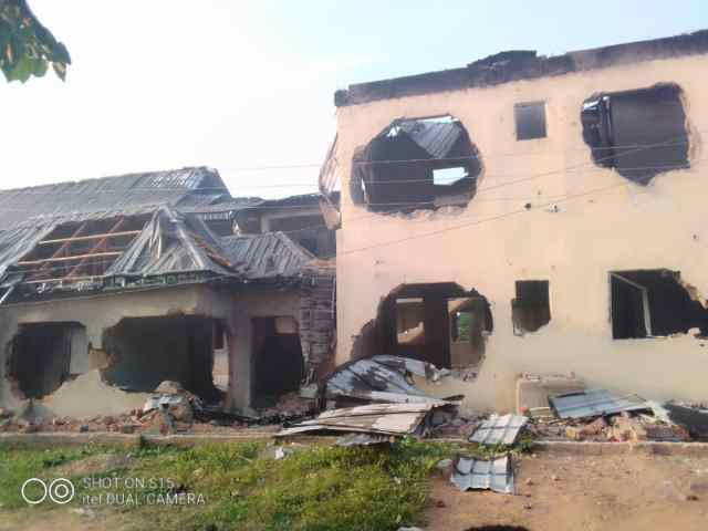 Irate youths raze church, houses in Benue community over missing male sexual organs