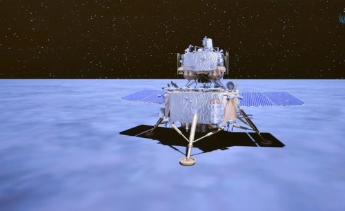China completes first rendezvous and docking in lunar orbit