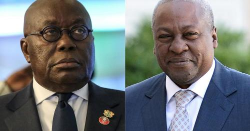 Ghana's two main candidates in Monday's presidential election sign peace pact