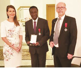 Akinroye, Nigerian Heart Foundation boss, bags Finland's highest award