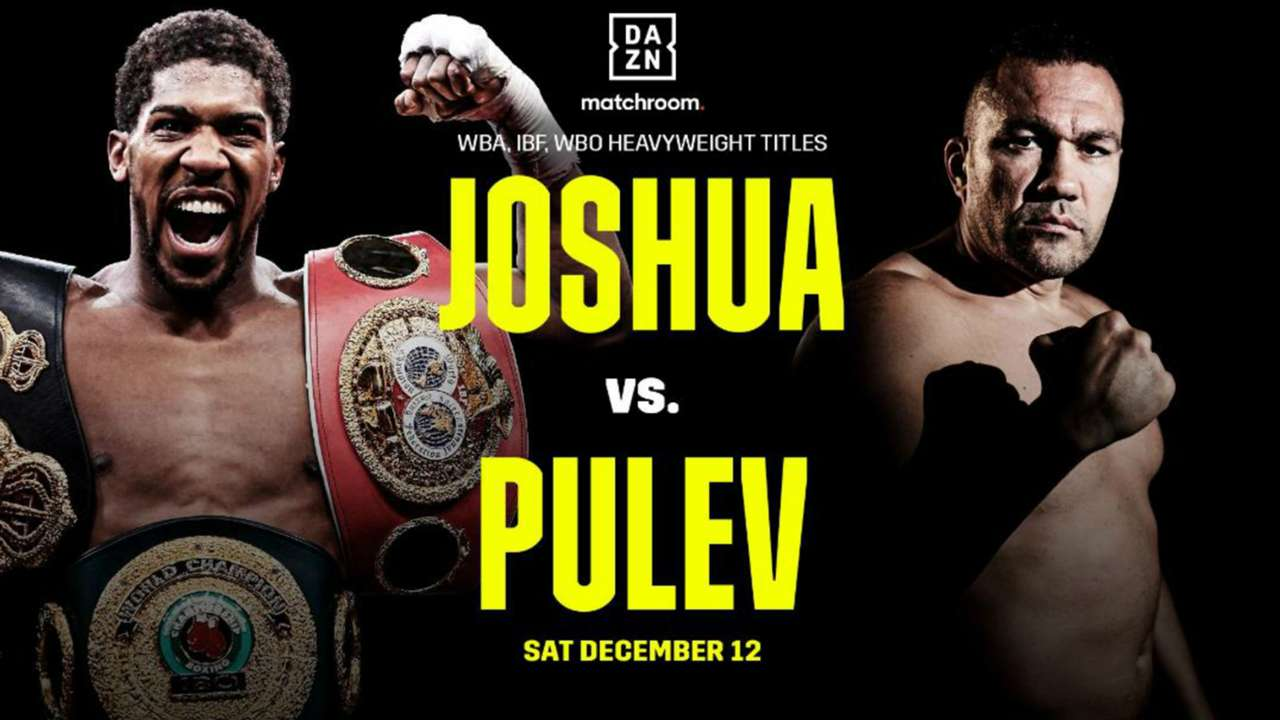Joshua says prepared to go to final bell against Pulev