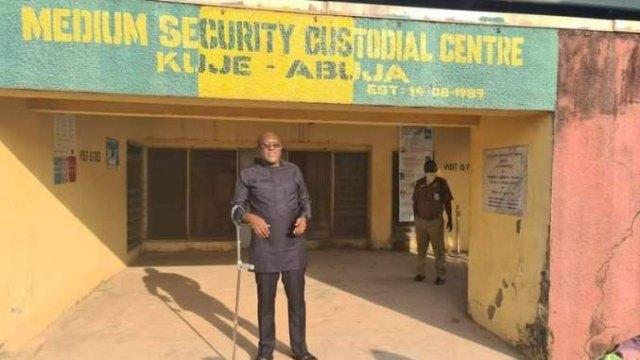 Olisa Metuh regains freedom after N250m bail
