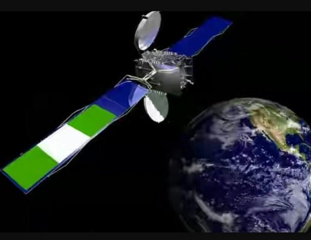 Nigeria satellite
